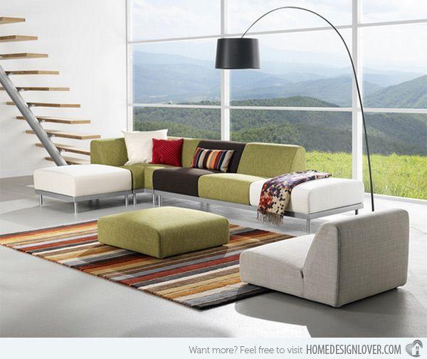 15 Flexible Modern Modular Sofa Systems Idea