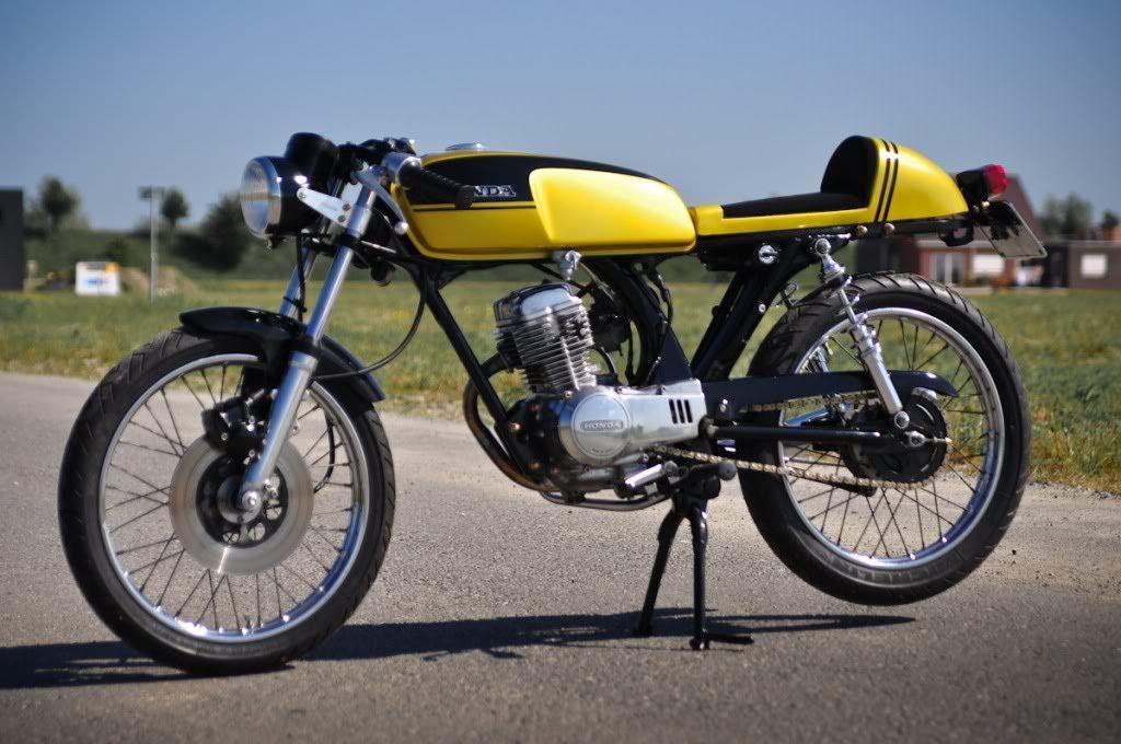pics for > honda cb 125 cafe racer | vehicles | pinterest | cafes