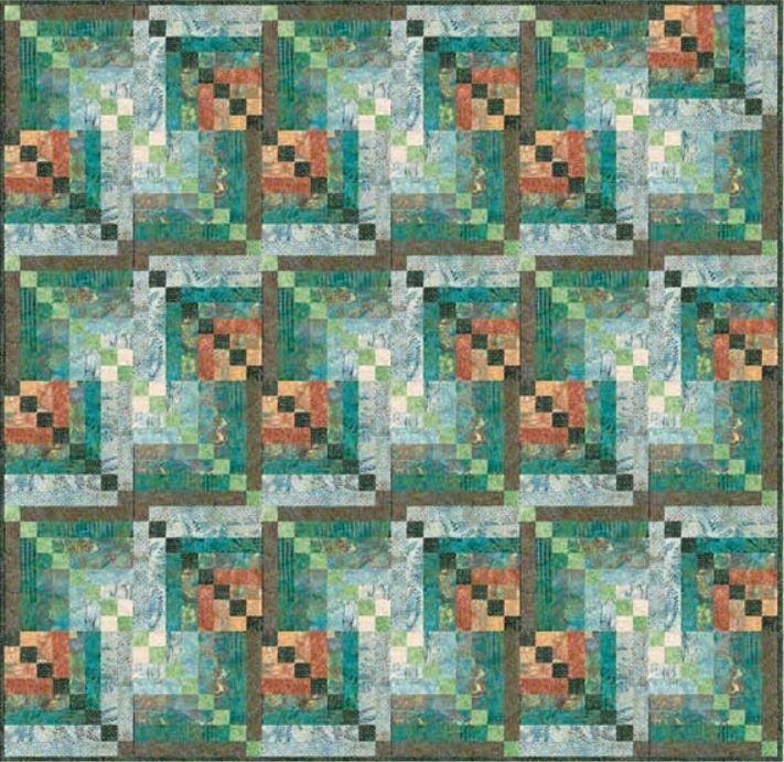 FREE Pattern - Bali Kaleidoscope Quilt By