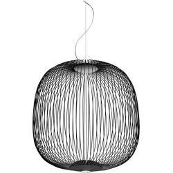 Photo of Foscarini Spokes 2 pendant lamp, black, with special cable length max. 10 m Foscarini