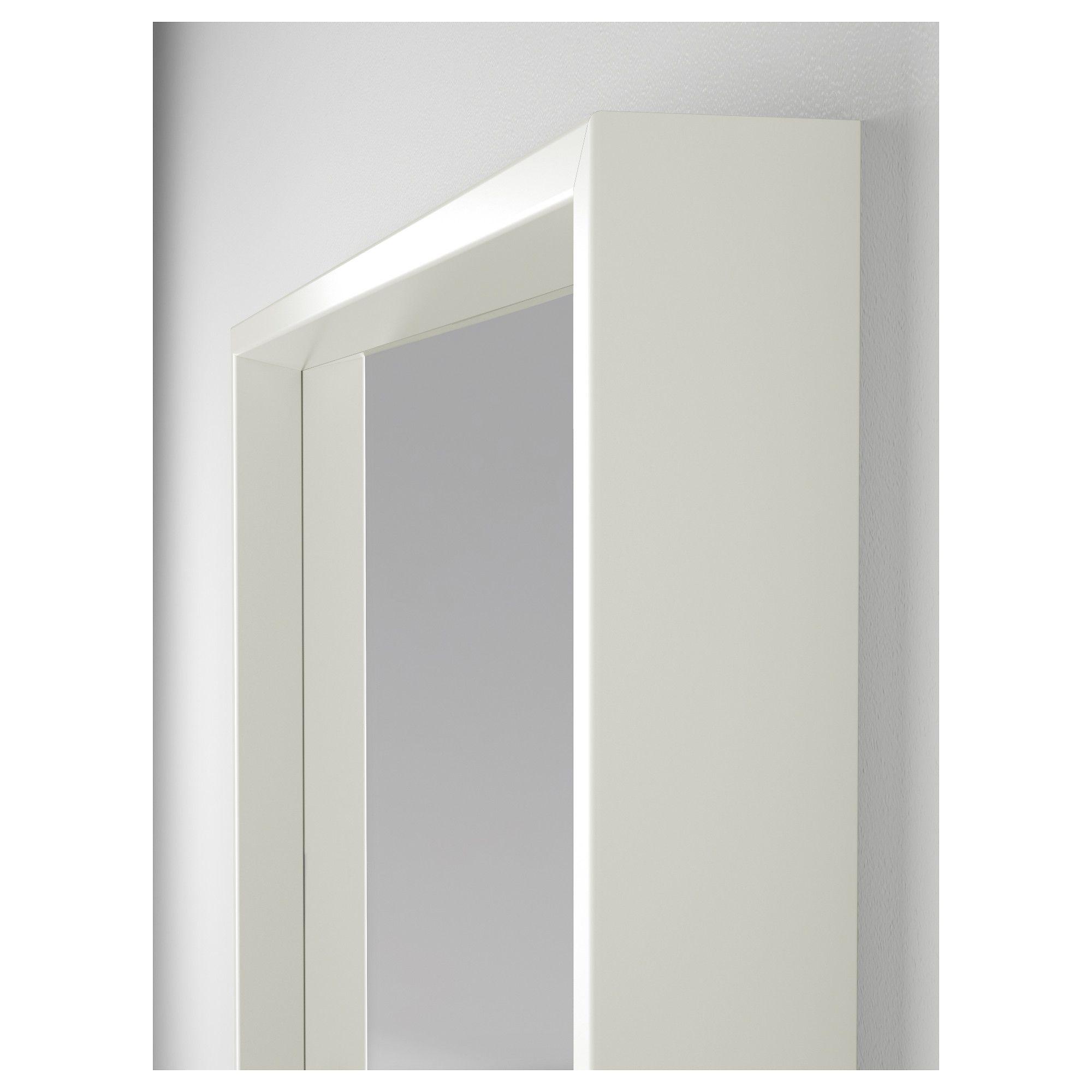 nissedal mirror white 65x65 cm | glass, decoration and bedrooms, Hause deko