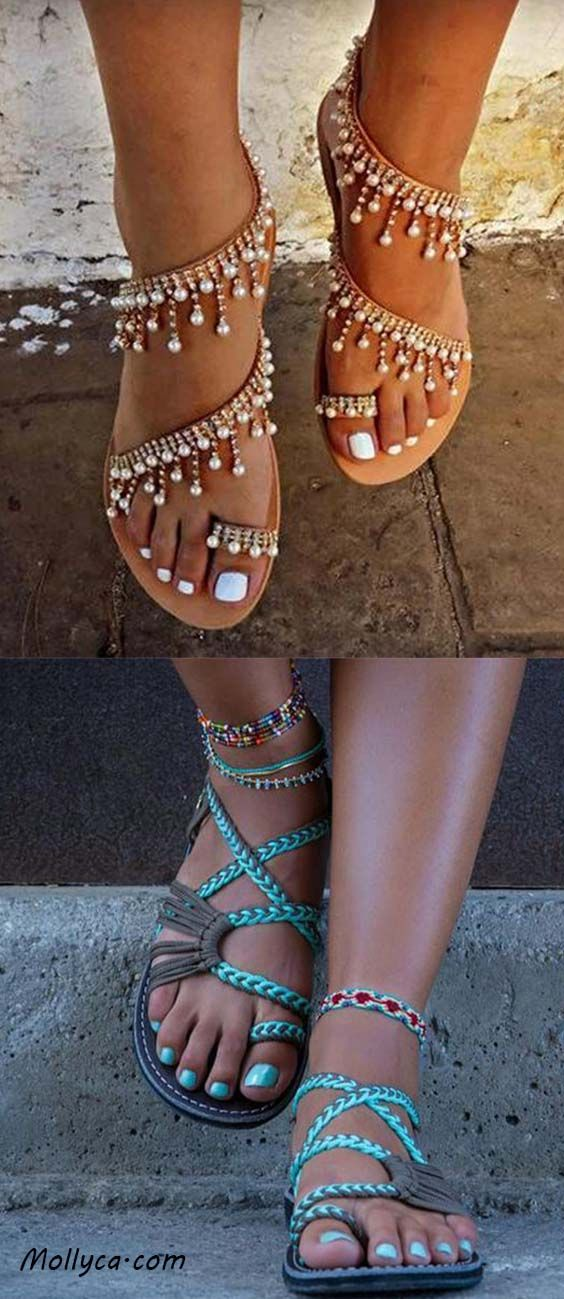 a66c84d963c7 Buy 2 Got 5% OFF Code  mollyca Women s summer sandal fashion  shoes ...
