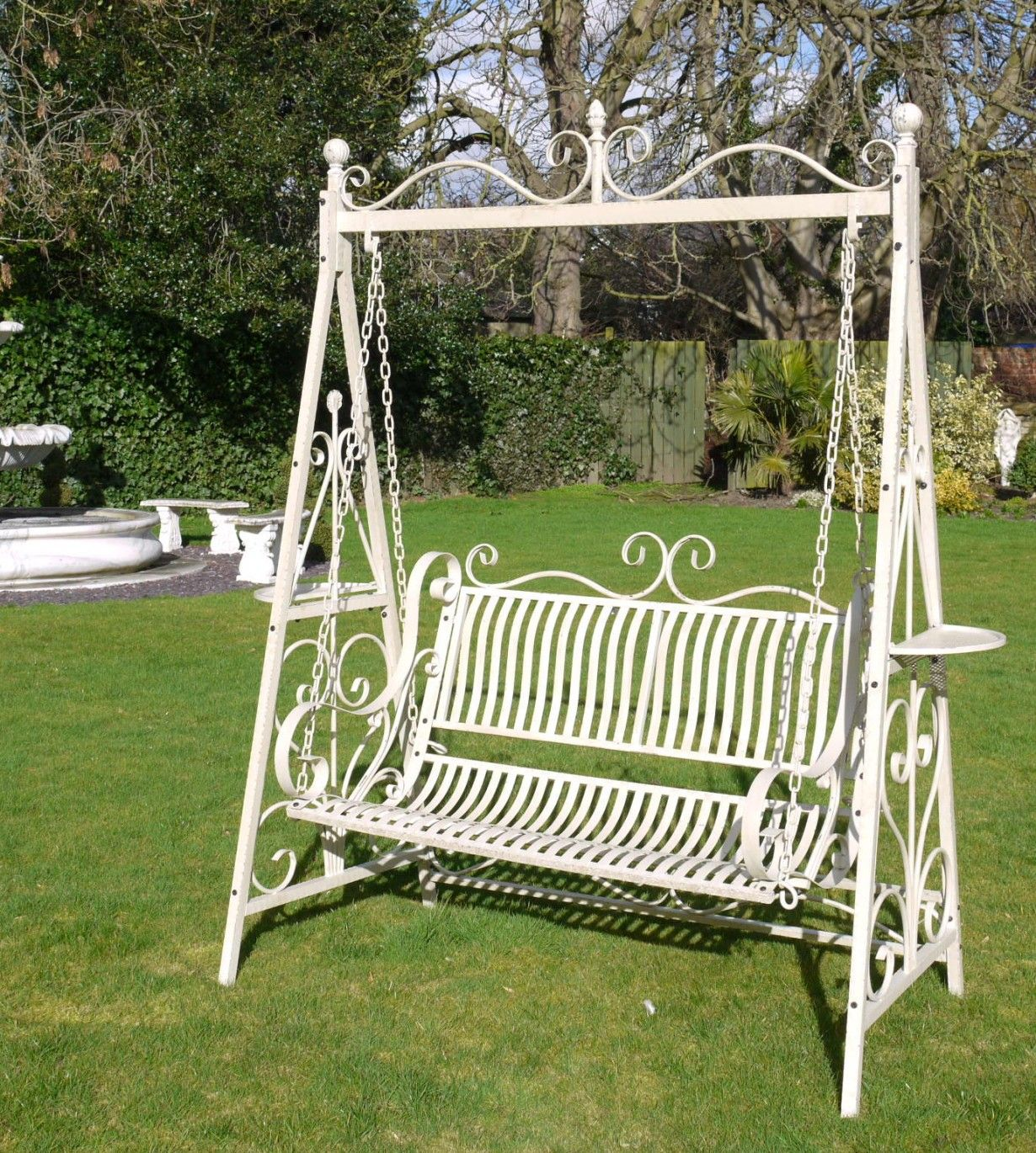 7 Ideas To Revamp Your Garden For 2020 Pouted Com In 2020 Swing Chair Garden Garden Swing Seat Swinging Chair