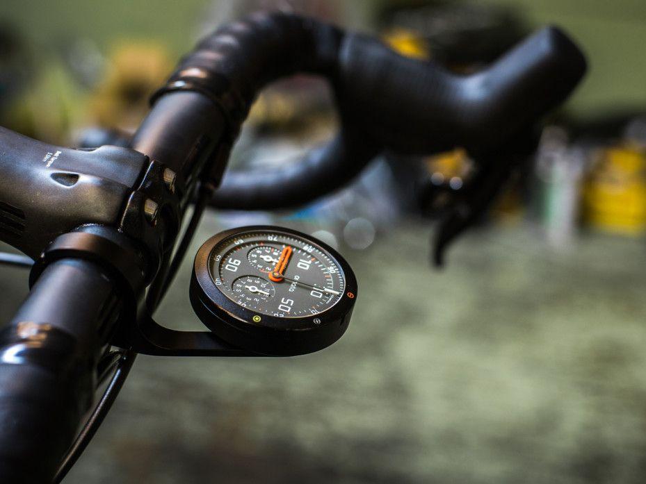 Beautiful Analog Bike Speedometer Hides 21st Century Guts Velo
