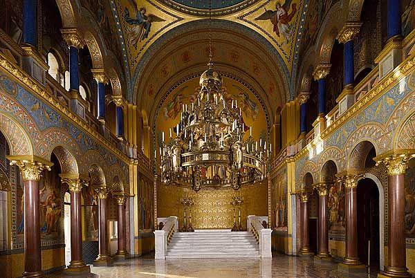 Neuschwanstein Castle Interior Throne Room Castles And