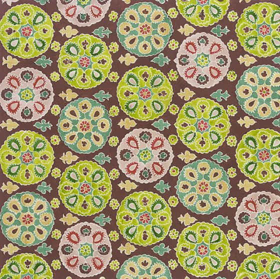 Textile design for 'Peasant' series   Elza Sunderland (Hungary, active United States, 1903-1991)   Gouache on paper   USA, 1944   Los Angeles County Museum of Art, LACMA