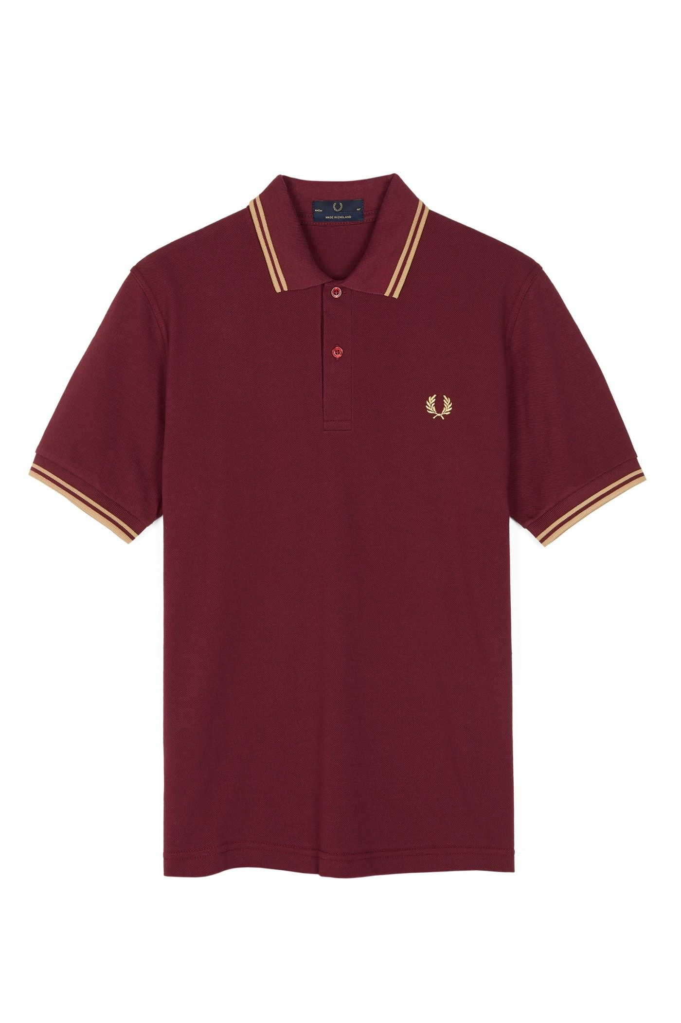 Fred Perry - M12 Aubergine / Champagne / Champagne