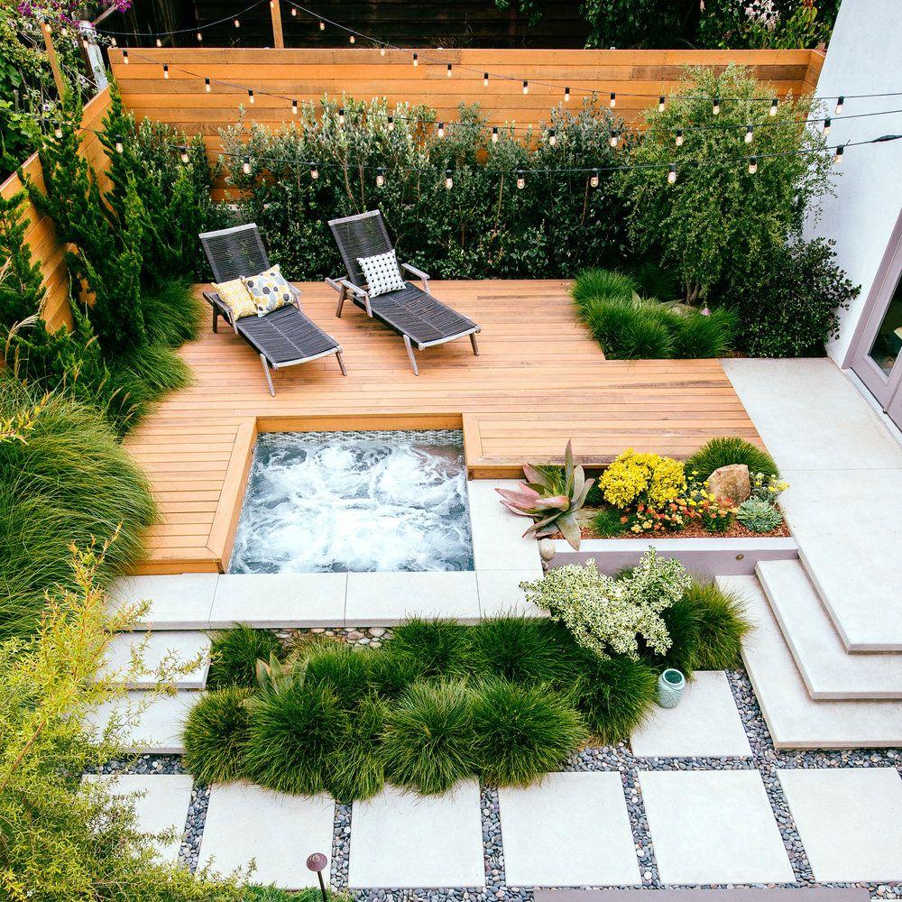 15 Outstanding Contemporary Landscaping Ideas Your Garden: Deck Ideas: 40 Ways To Design A Great Backyard Deck Or