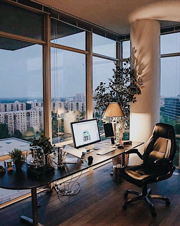 Epic Home Office City Views Home Office Setup Office With A