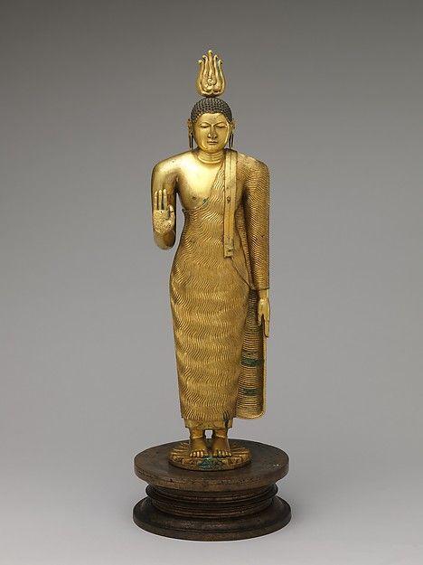 Standing Buddha | Sri Lanka (Kandy district) | Kandyan period (1480–1815) | The Met