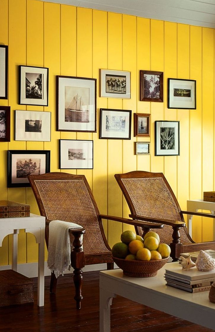 Yellow Gold Paint Color Living Room - Frasesdeconquista.com