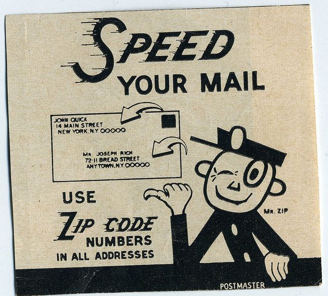 The U S Introduced Zip Codes On July 1 1963 The United States