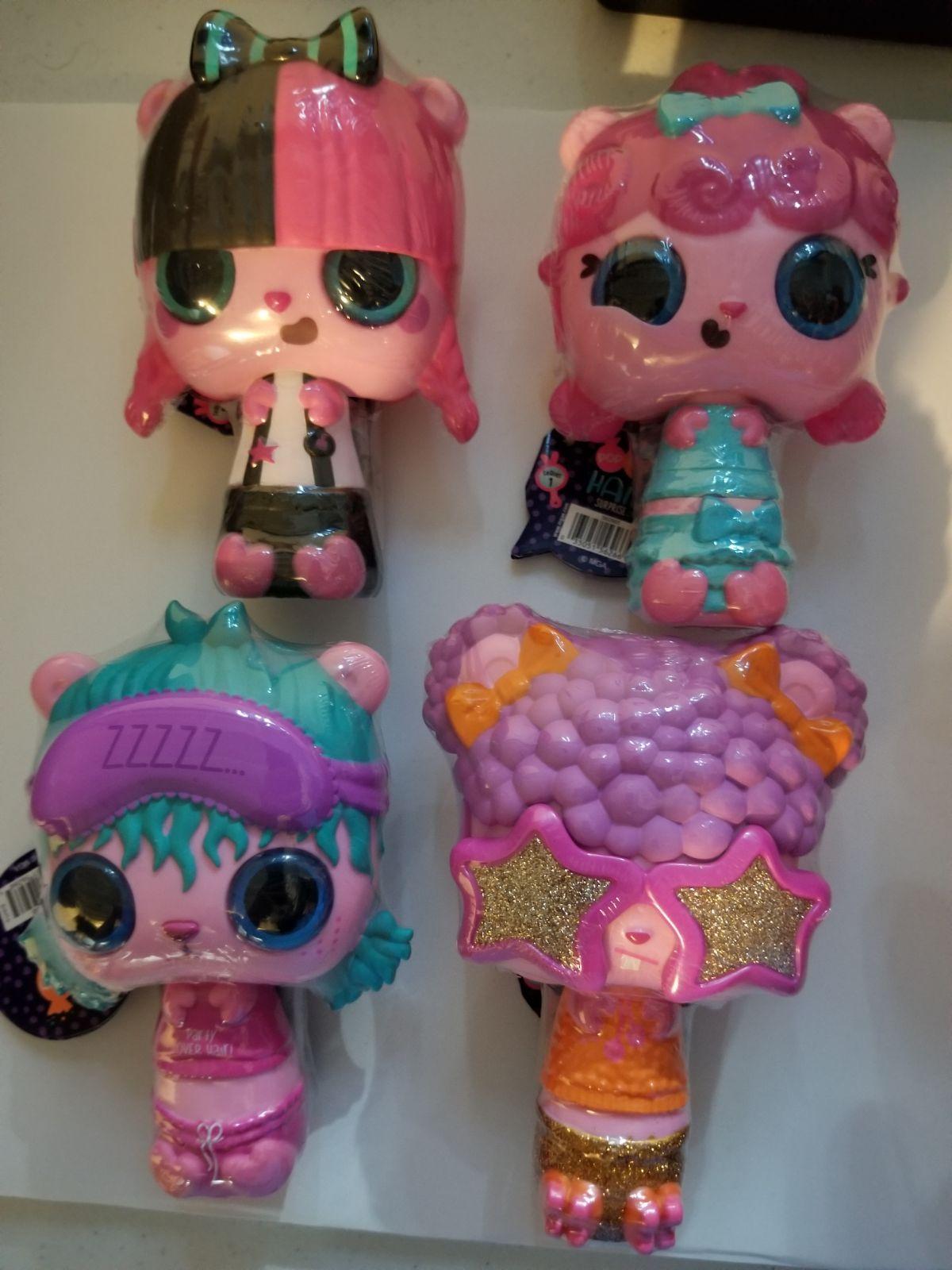 4x Mga Pop Pop Hair Surprise 3 1 Pop Pet On Mercari Pop Hair Pets Playset
