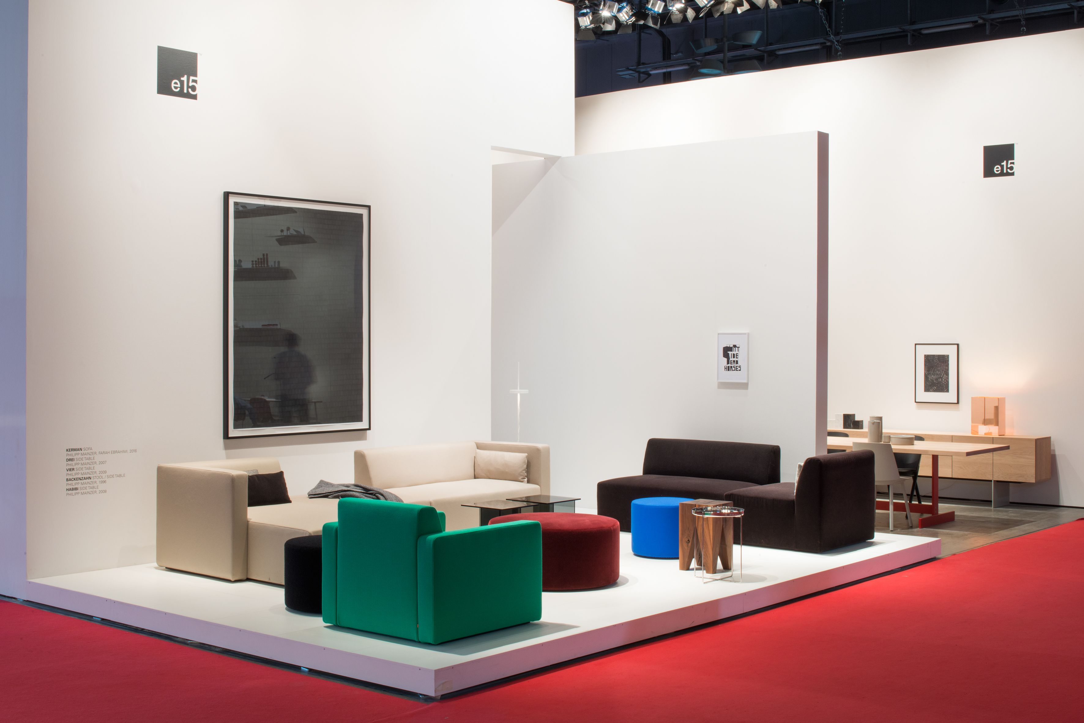 Salone Arredamento ~ E15 fair stand at salone del mobile 2017. more: www.e15.com