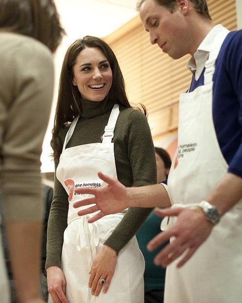 December 2011   Prince William And His Wife Catherine Middleton Attend A  Reception At Centrepointu0027s Camberwell Foyer In London, England.
