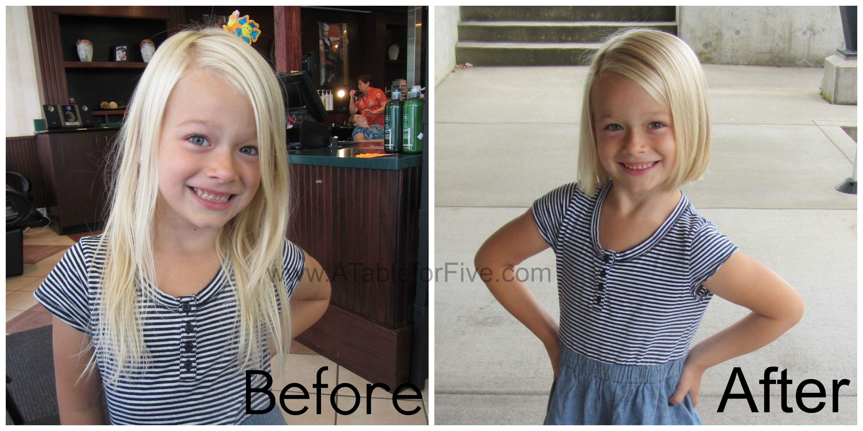back to school style : my little girl chopped her locks in