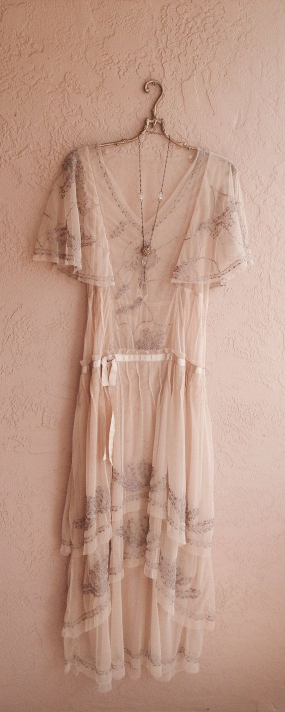 great gatsby bohemian dresses  Sheer cape sleeve Romantic Lace