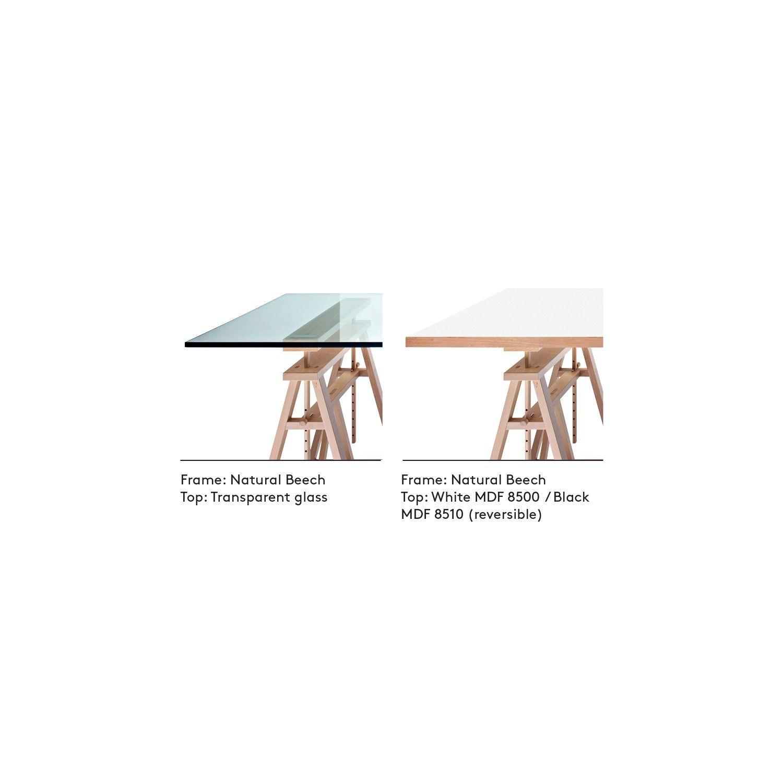 Escritorio Con Caballetes Modelo Teatro De Magis Arredaclick Dining Table Home Decor [ 1500 x 1500 Pixel ]