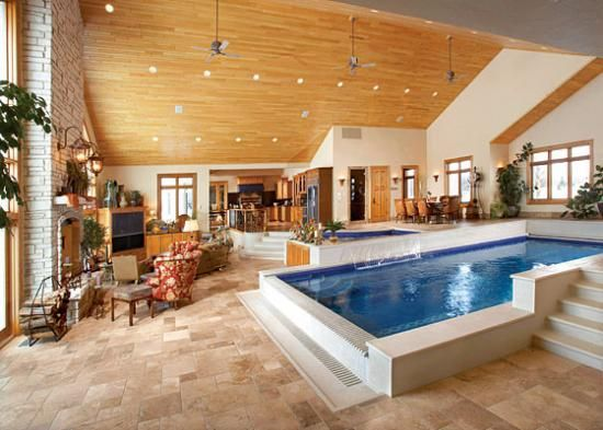 There Is A Pool Inside The Living Room What Entertainment