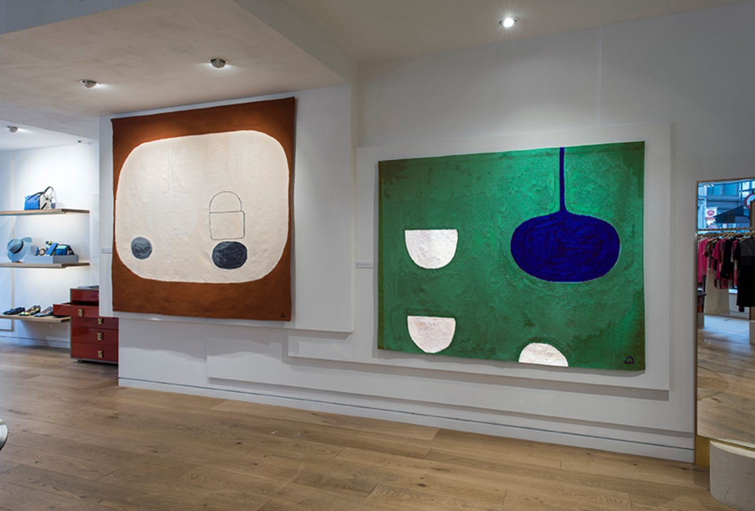 William Scott Tapestries At Paul Smith In Mayfair