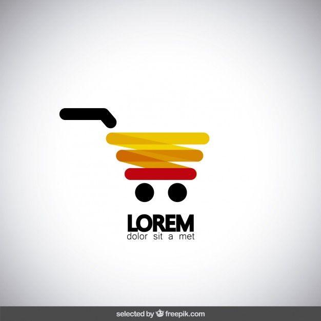 Supermarket Logo Template Design Vector Graphic By 2qnah Creative Fabrica Supermarket Logo Logo Templates Text Logo Design