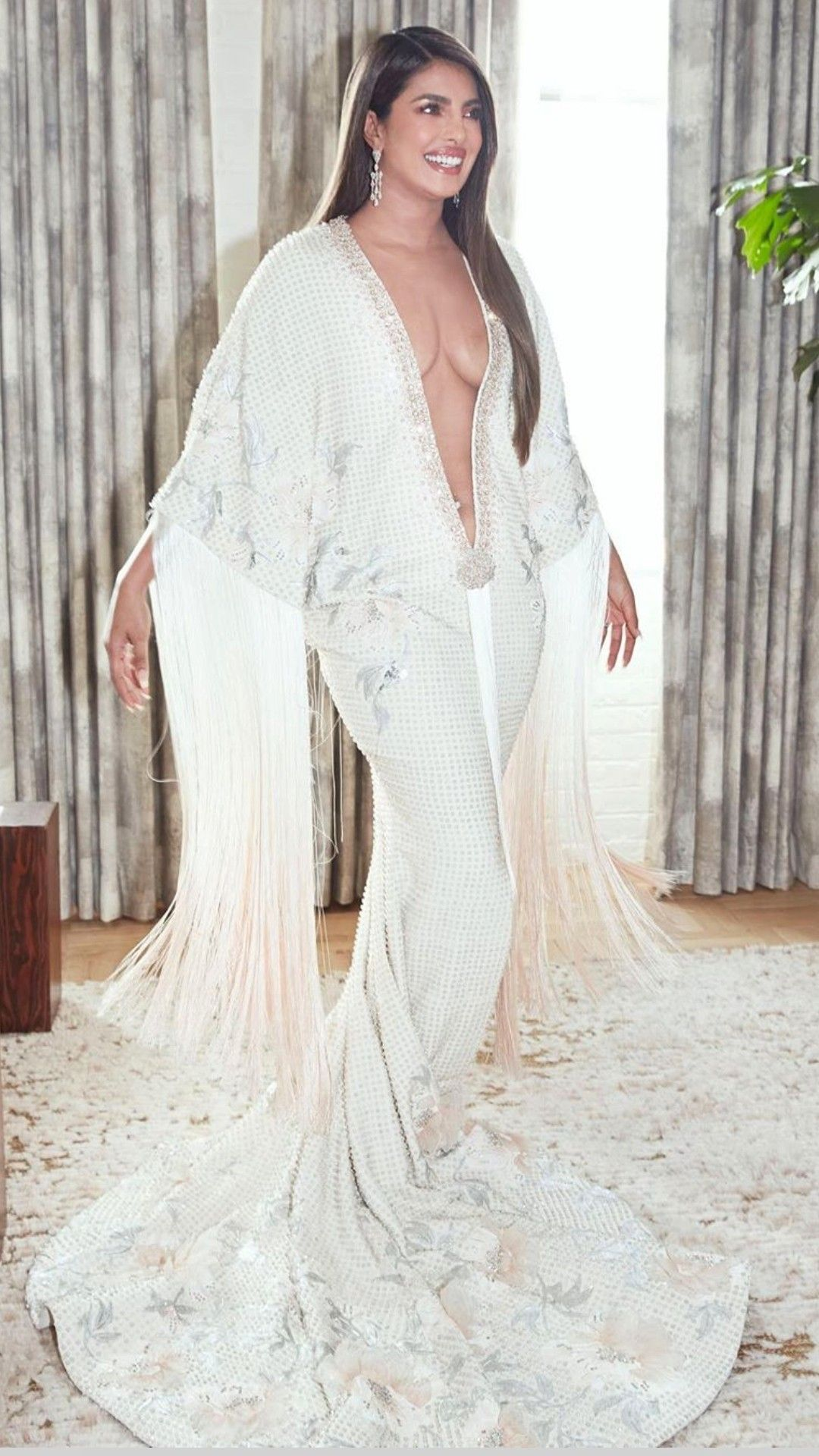 Priyanka Chopra at the 2020 Grammy Awards in 2020
