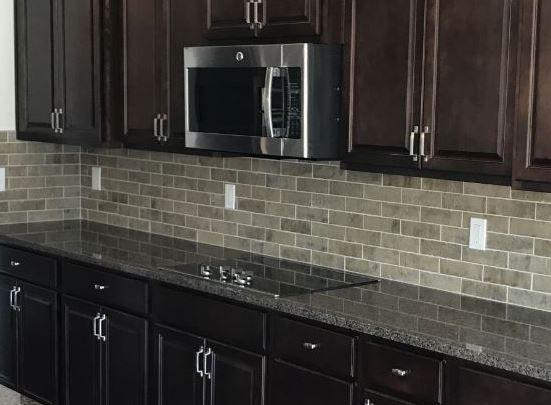 Brickworks Atrium 2x8 Tiles Backsplash In Kitchen In 2019 Countertop Backsplash Kitchen