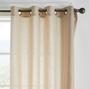 Cotton Linen Curtain Panels The Company Store The Company