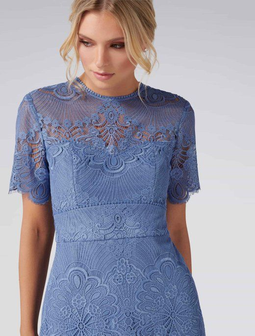 Chloe Lace Short Sleeve Dress Forever New In 2019