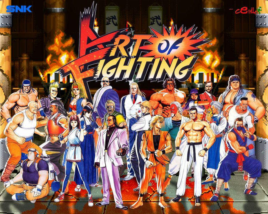 ART OF FIGHTING wallpaper by Cepillo16.deviantart.com