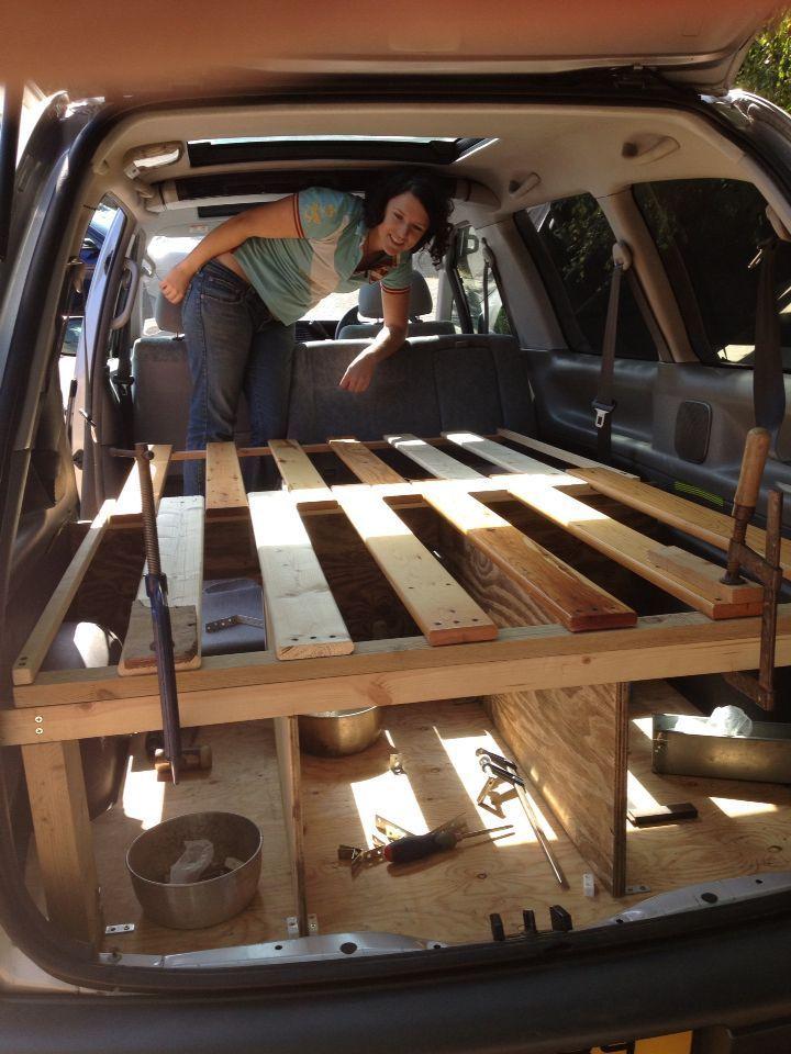 Photo of DIY Toyota Previa Camper                                                        …