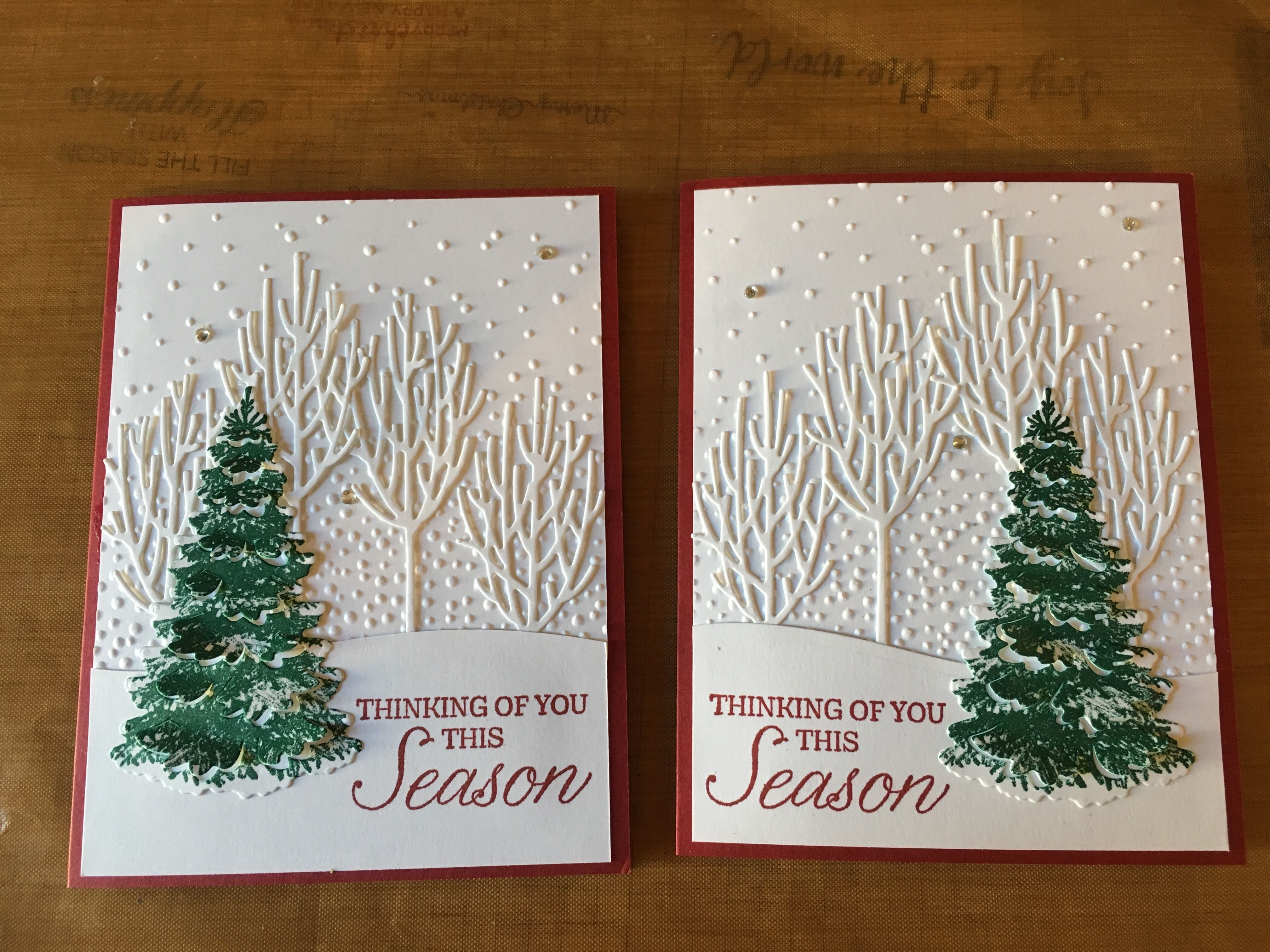 Christmas 2020 Site:Pinterest.Com winter woods stampin up cards site:pinterest.  Bing images