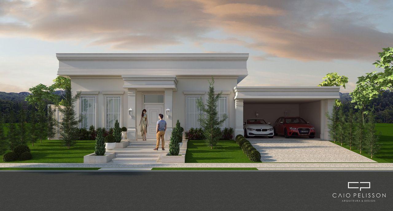 Resultado de imagem para fachadas neoclassicas for Casa classica moderna