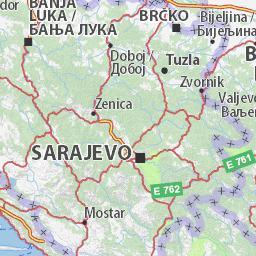 Zagreb To Dubrovnik Route Planner Viamichelin Kroatien