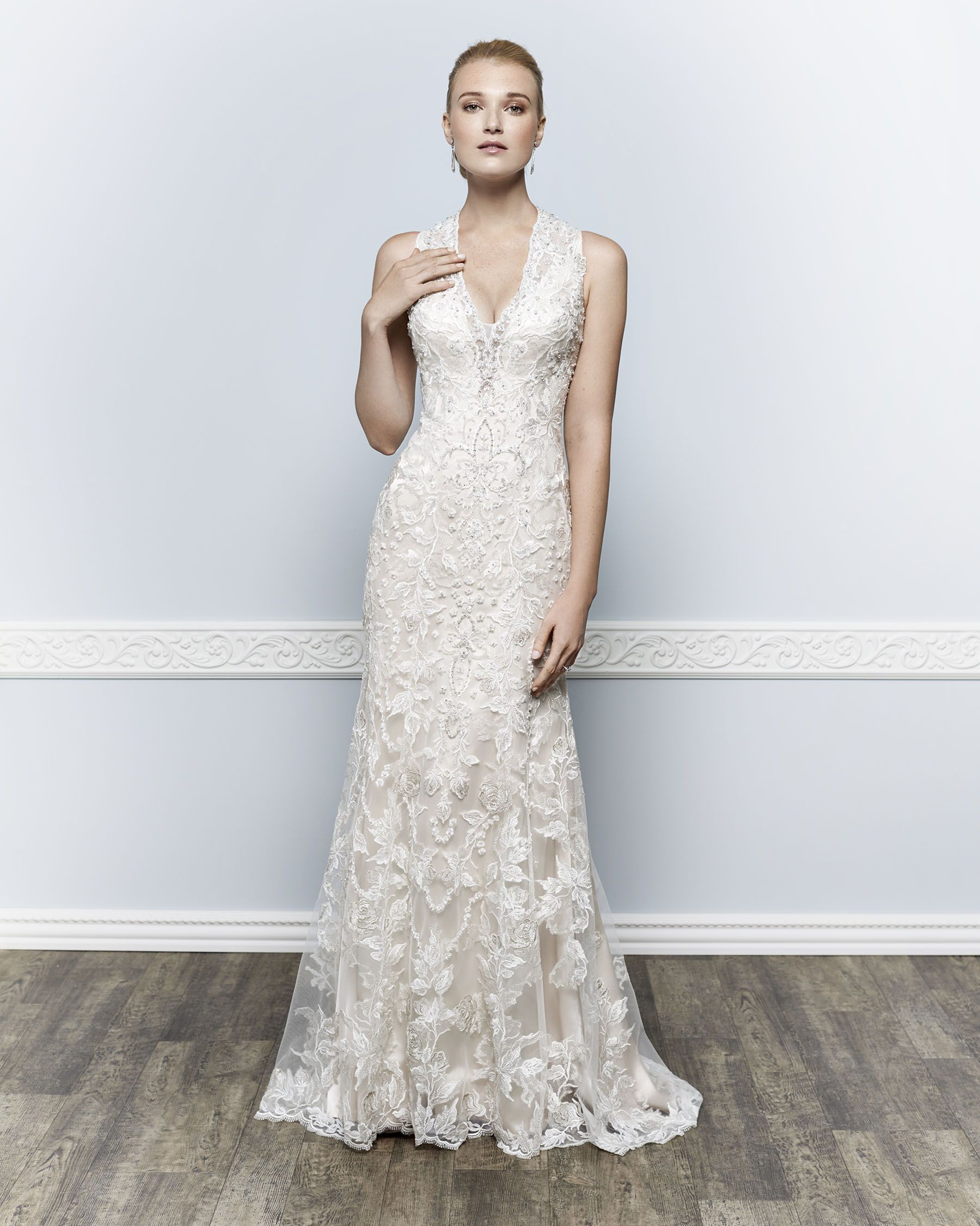 Kenneth Winston Couture Style 1660 Weddingdress Bridal