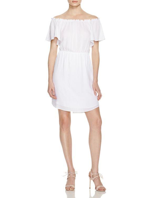 b7997f89d03ddc Ella Moss Off The Shoulder Dress - 100% Bloomingdale's Exclusive ...