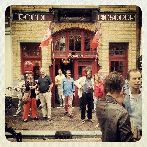 Roode Bioscoop #haarlemmerplein #amsterdam