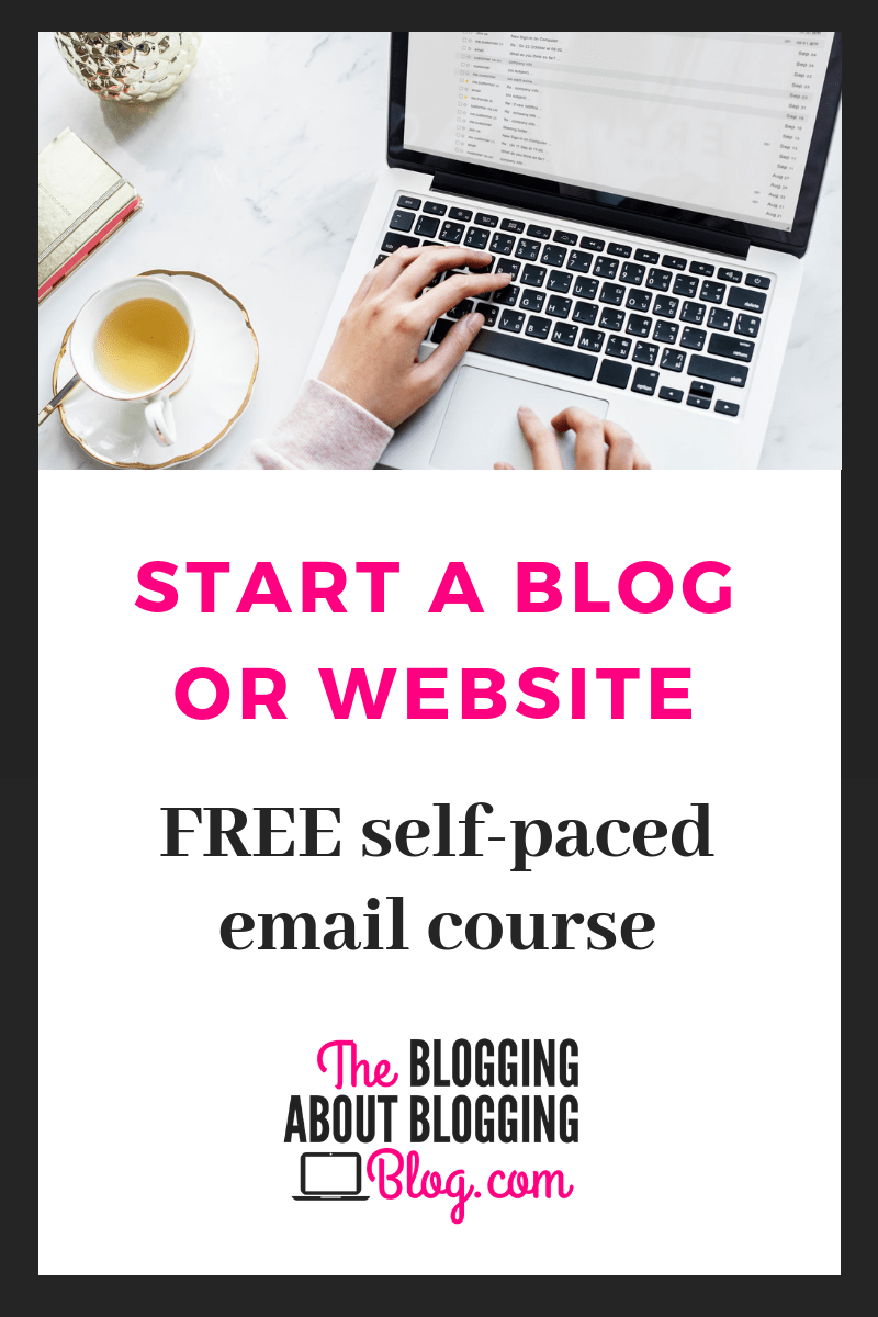 """FREE """"Start a Blog"""" Online Course How to start a blog"""
