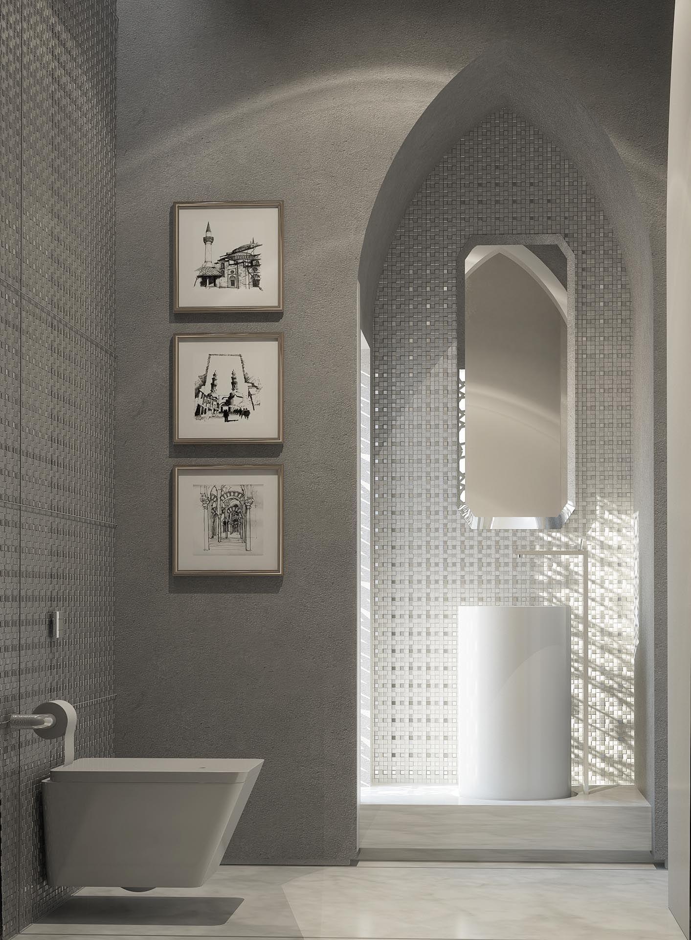 Mimar Interiors | Salle de bain | Salle de bain marocaine, Villa de ...
