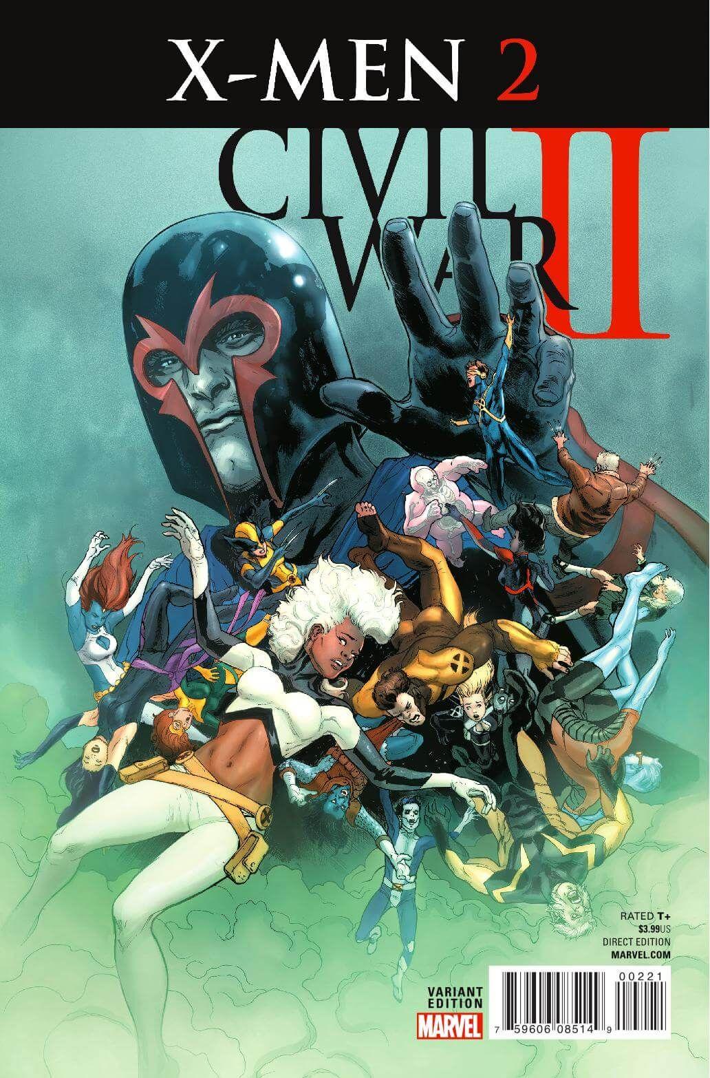 Preview: Civil War II: X-Men #2, Story: Cullen Bunn Art: Andrea Broccardo Cover: David Yardin Publisher: Marvel Publication Date: July 6th, 2016 Price: $3.99 An Inhu..., #All-Comic #All-ComicPreviews #AndreaBroccardo #CIVILWARII:X-MEN #Comics #CullenBunn #DavidYardin #Marvel #previews