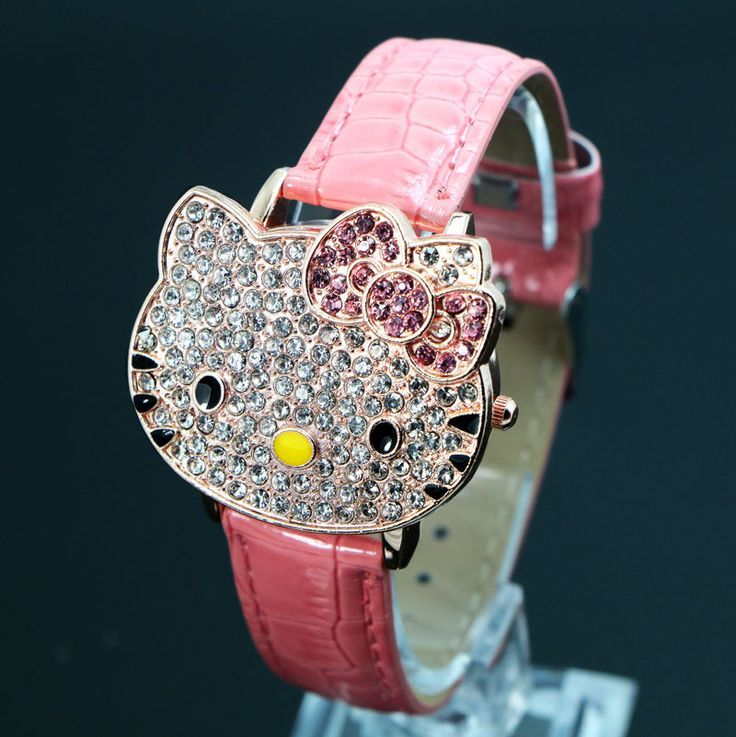 Hello Kitty Leather Watch Price: $8.99 & FREE Shipping