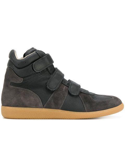 MAISON MARGIELA hi-top Replica sneakers. #maisonmargiela #shoes #