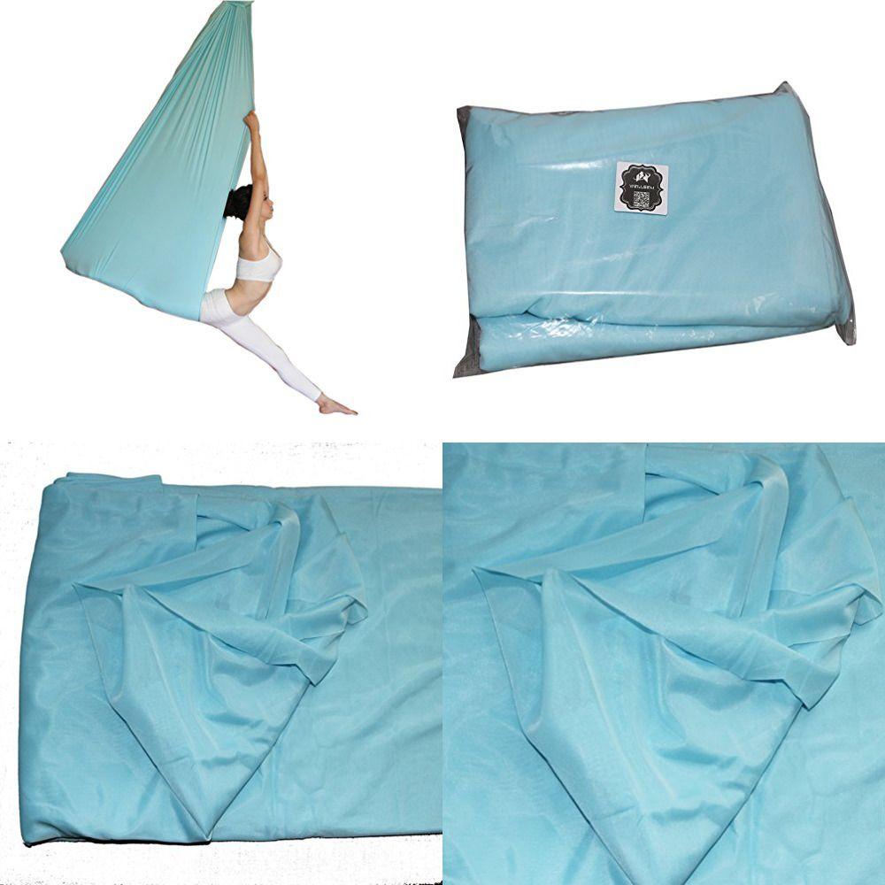 Deluxe l yards w yard yoga flying swing aerial hammock silk