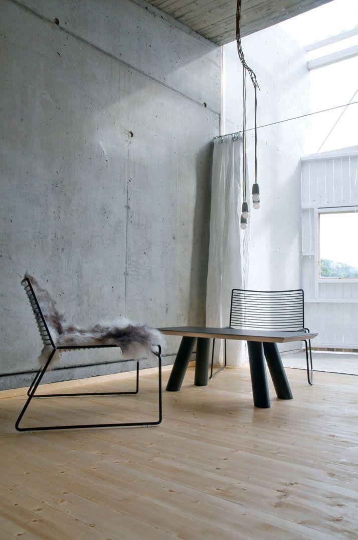 Welcome Beyond Yatzer Concrete Walls Interior Interior Lounge Chair Design