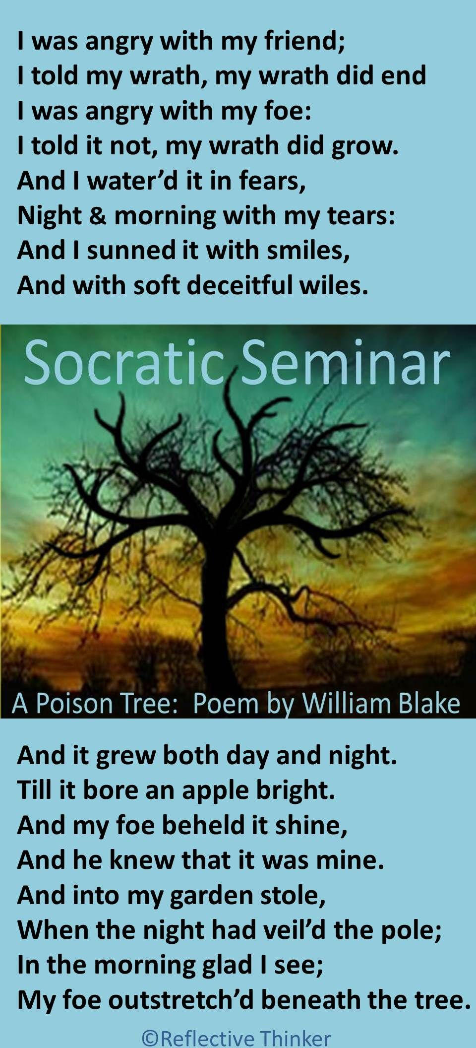 socratic seminar activities poem analysis annabel lee by socratic seminar poetry analysis activities a poison tree by william blake