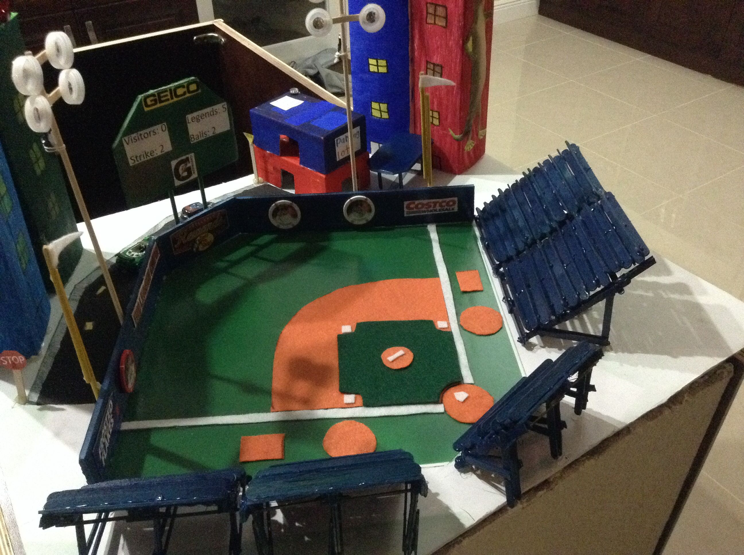 Baseball Stadium Project