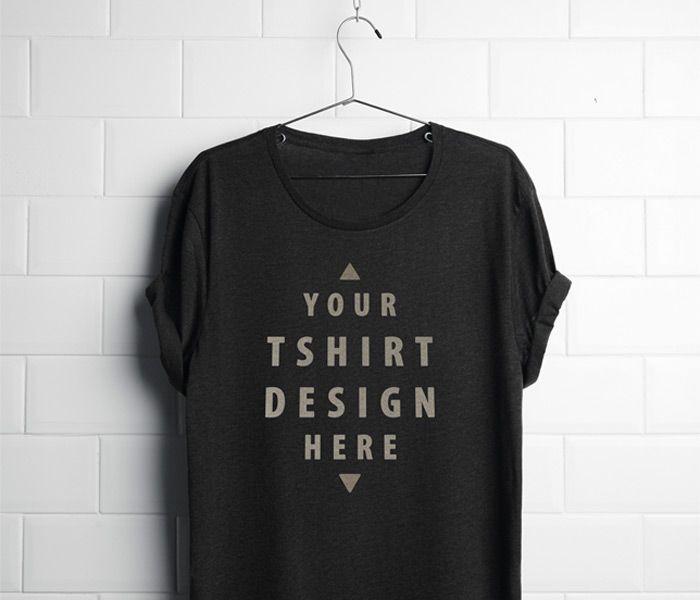 Download Free T Shirt Mockup Psd Kaos
