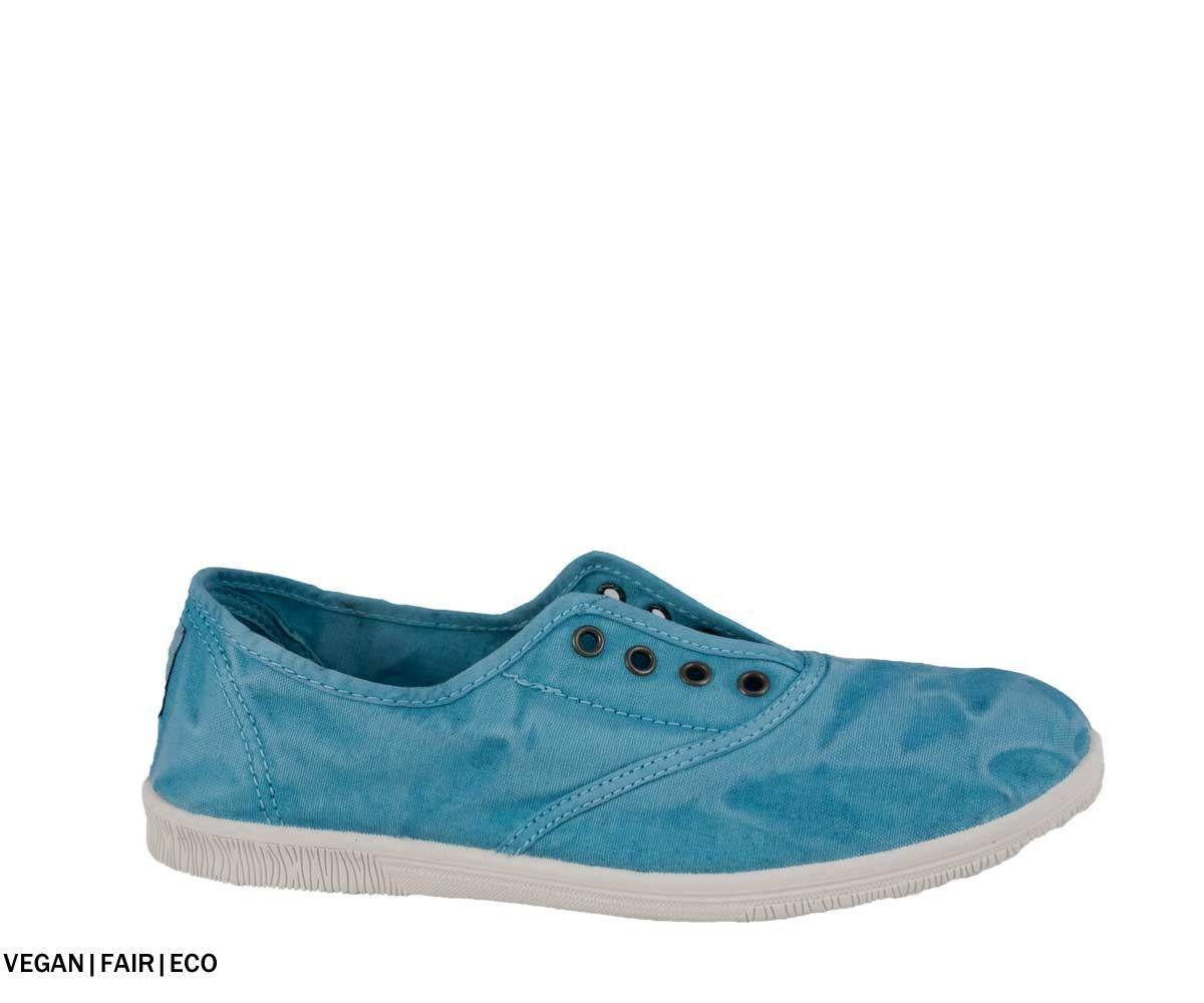 Natural World Ingles Aguamar In 2020 Vegane Sneaker Schnurschuhe Und Turkis Blau