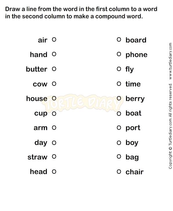 Compound words worksheets kindergarten esl efl vpk literacy compound words worksheets kindergarten esl efl ibookread Download