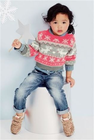 Buy Fluro Fairisle Pattern Jumper (3mths-6yrs) from the Next UK online shop